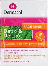 Духи, Парфюмерия, косметика Маска для лица - Dermacol Detox&Defence Face Mask