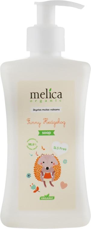 """Детское жидкое мыло """"Ежик"""" - Melica Organic Funny Hedgehog Liquid Soap"""