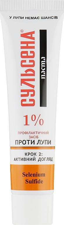 Паста профилактическая против перхоти 1% - Сульсена (Туба)