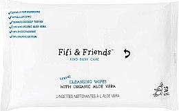 Духи, Парфюмерия, косметика Очищающие салфетки с органическим алоэ, 32шт - Fifi & Friends Cleansing Wipes with Organic Aloe Vera