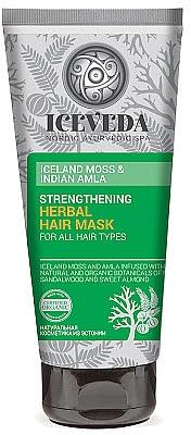 Маска для волос - Iceveda Iceland Moss&Indian Amla Strengthening Herbal Hair Mask