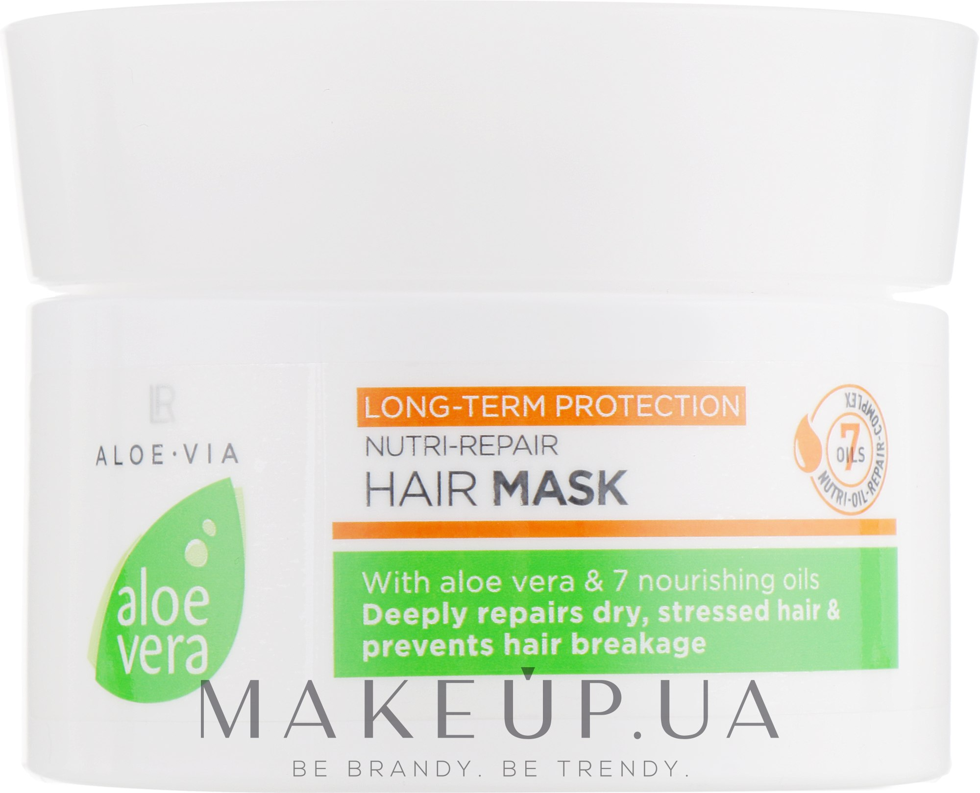 Маска для волос - LR Health & Beauty Aloe Via Nutri-Repair Hair Mask — фото 200ml
