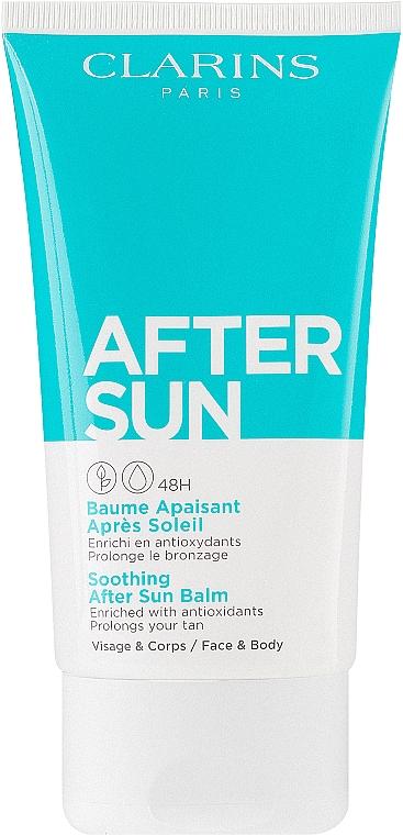 Успокаивающий бальзам после загара для лица и тела - Clarins Soothing After Sun Balm 48H