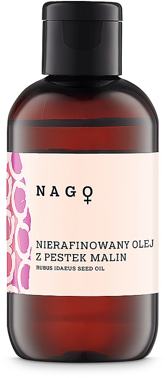 Нерафинированное масло семян малины - Fitomed Rubus Idaeus Seed Oil
