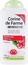 "Духи, Парфюмерия, косметика Крем для душа ""Клюква"" - Corine De Farme Shower Cream"
