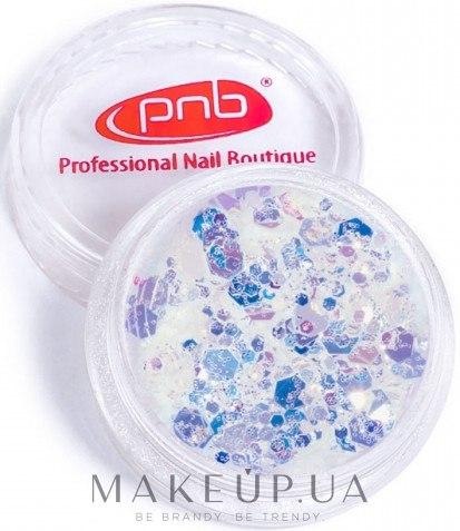 Глиттер для дизайна ногтей - PNB Galaxy Glitter — фото 01