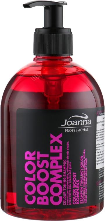 Шампунь для тонирования цвета - Joanna Professional Color Boost Complex Shampoo Toning Color