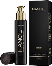 Духи, Парфюмерия, косметика Масло для волос со средней пористостью - Nanoil Hair Oil Medium Porosity