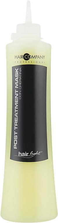 Маска восстанавливающая с протеинами кератина - Hair Company Hair Light