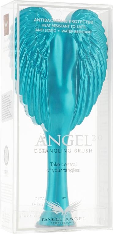 Расческа для волос - Tangle Angel 2.0 Detangling Brush Turquoise