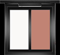 Духи, Парфюмерия, косметика Пудра для контурирования лица - O.TWO.O Double Color Contour Palette Perfect Naked Shading Powder