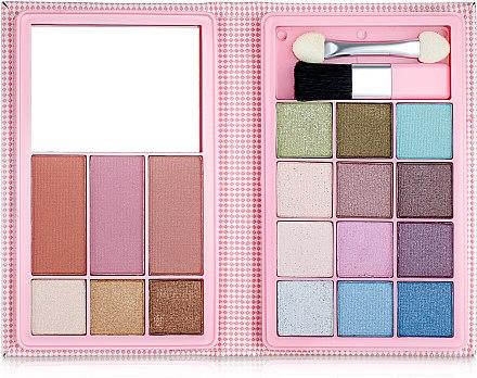 Палетка для макияжа, розовая - Ruby Rose Palette Pink