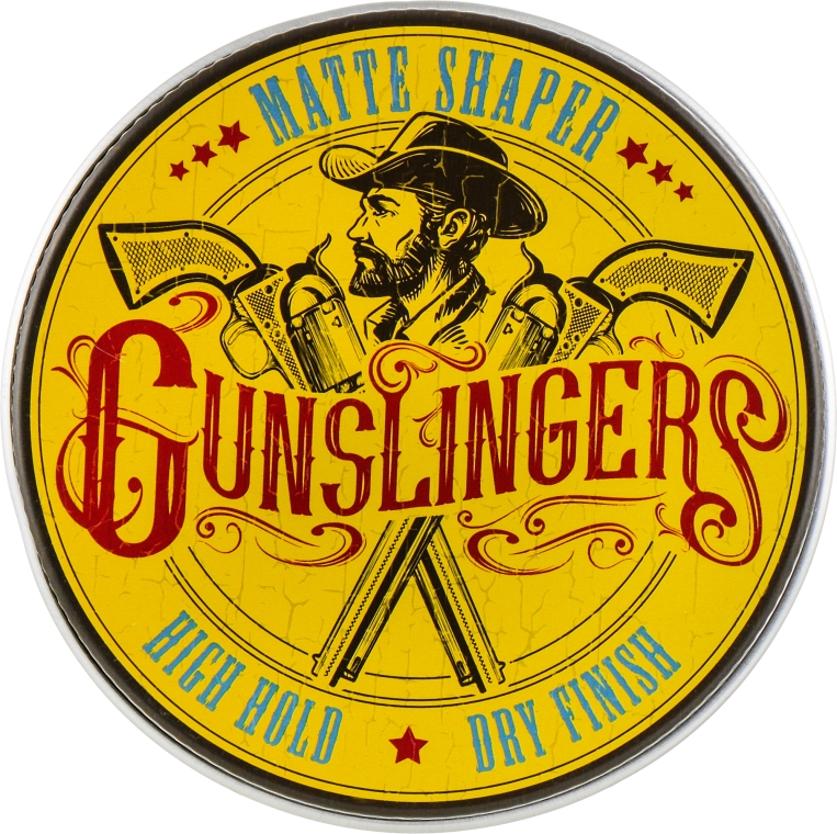 Помада для укладки волос - Gunslingers Matte Shaper