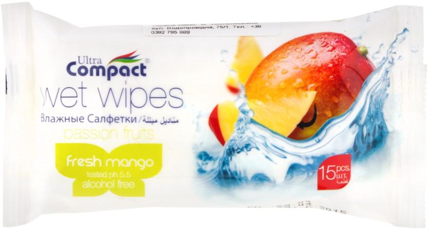 """Влажные салфетки """"Манго"""" - Ultra Compact Fruit"""