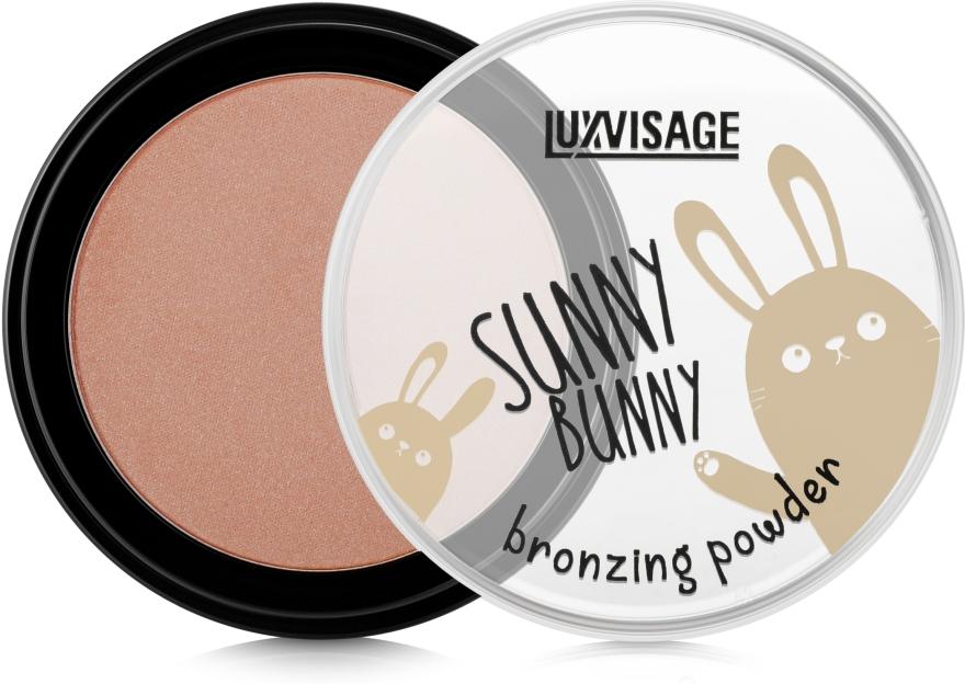 Пудра-бронзер - Luxvisage Sunny Bunny Bronzing Powder