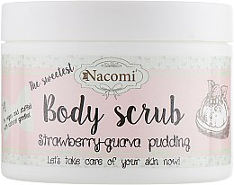 Духи, Парфюмерия, косметика Пилинг-скраб для тела - Nacomi Body Scrub Strawberry-Guava Pudding