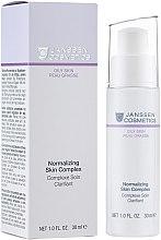 Духи, Парфюмерия, косметика Нормализующий концентрат для жирной кожи - Janssen Cosmetics Normalizing Skin Complex
