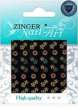 Духи, Парфюмерия, косметика Наклейки для дизайна ногтей, fda-181 - Zinger Nail Art Sticker