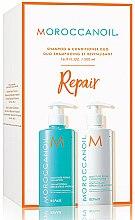 Духи, Парфюмерия, косметика Набор для волос - MoroccanOil Repair Shampoo & Conditioner (shm/500ml + cond/500ml)