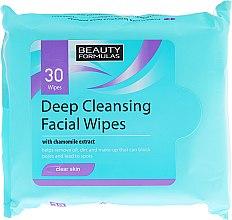 Духи, Парфюмерия, косметика Очищающие салфетки для лица - Beauty Formulas Deep Cleansing Facial Wipes