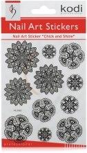 Духи, Парфюмерия, косметика Наклейки для дизайна ногтей - Kodi Professional Nail Art Stickers YL002