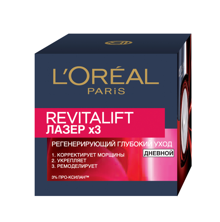 Дневной крем - L'Oreal Paris Revitalift Laser Х3