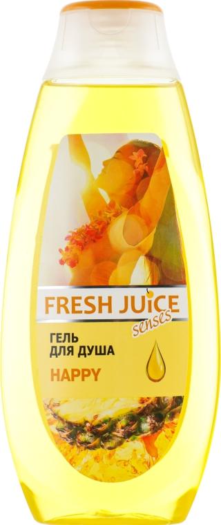 "Гель для душа ""Happy"" - Fresh Juice Shower Gel"