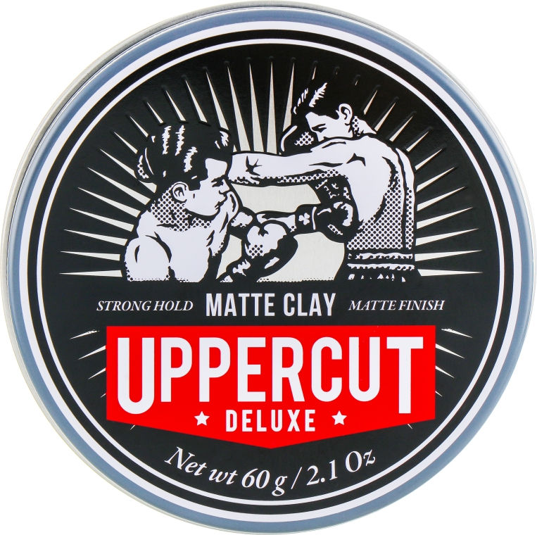 Глина для укладки - Uppercut Deluxe Matt Clay