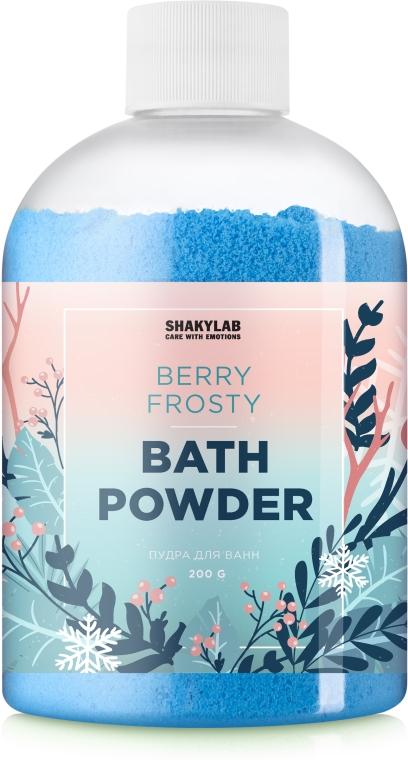Пудра для ванны «Berry Frosty» - SHAKYLAB Magic Bath Powder