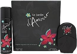 Духи, Парфюмерия, косметика Eden Classic Le Jardin d'Amour - Набор (edp/50ml + deo/150ml)
