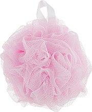 Духи, Парфюмерия, косметика Мочалка синтетическая, средняя, розовая - Balmy Naturel Bath Pouf Medium