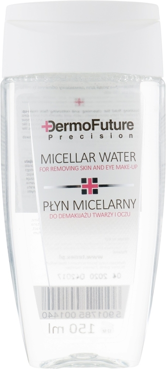Мицеллярная жидкость для снятия макияжа с лица и глаз - DermoFuture