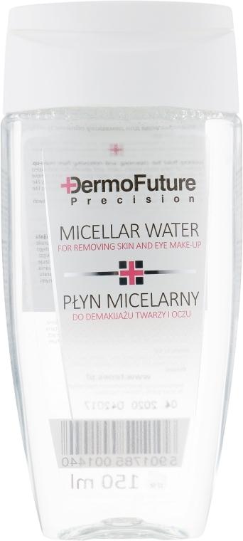 Мицеллярная жидкость для снятия макияжа с лица и глаз - Dermo Future