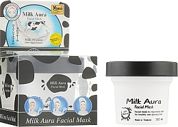 Духи, Парфюмерия, косметика Маска для лица с молочным протеином - Yoko Milk Aura