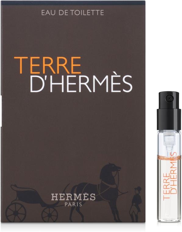 Hermes Terre d'Hermes - Туалетная вода (пробник)