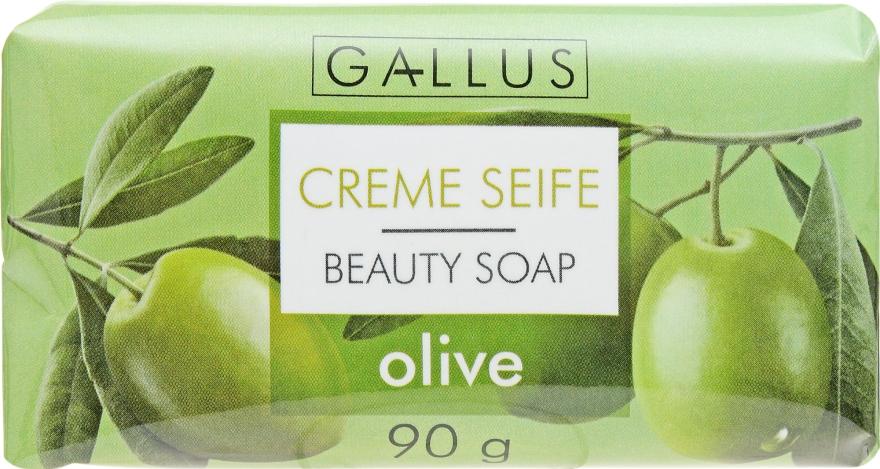 "Косметическое мыло ""Олива"" - Gallus Beauty Soap"