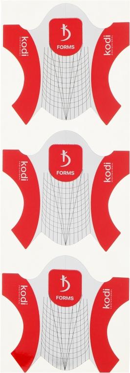 Бумажные одноразовые формы для ногтей - Kodi Professional