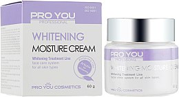Духи, Парфюмерия, косметика Увлажняющий крем для лица с отбеливающим эффектом - Pro You Professional Whitening Moisture Cream