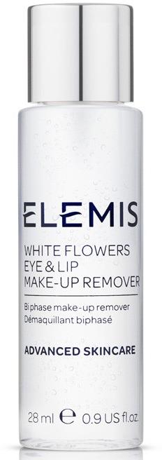 Двухфазный лосьон для демакияжа - Elemis White Flowers Eye & Lip Make-Up Remover