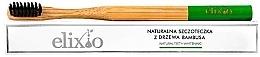 Духи, Парфюмерия, косметика Бамбуковая зубная щетка - Elixio Organic Bamboo Tree Natural Toothbrush