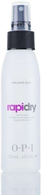 Средство для сушки лака с маслом авоплекс, с дозатором - O.P.I RapiDry Avoplex Oil Spray