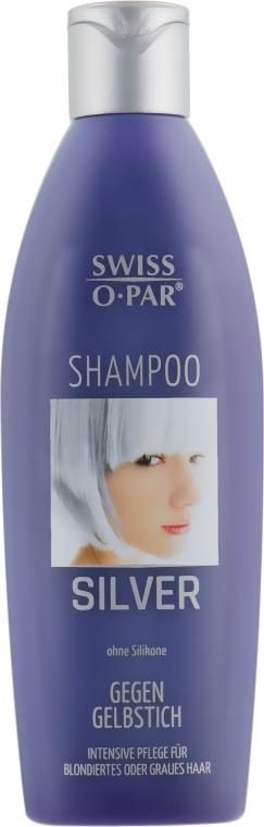 Шампунь для седых и обесцвеченных волос - Swiss-o-Par Silver Shampoo