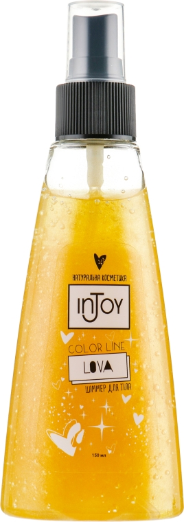 "Шиммер для тела ""Lova"" - inJoy Color Line Body Shimmer"