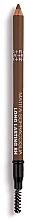 Духи, Парфюмерия, косметика Карандаш для бровей - Rougj+ Glamtech 8H Long-Lasting Brow Pencil