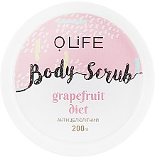 """Духи, Парфюмерия, косметика Скраб для тела """"Грейпфрутовая диета"""" - O.life Body Scrub Grapfruit Diet"""