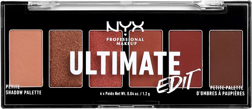 Палетка теней - NYX Professional Makeup Ultimate Edit Petite Shadow Palette