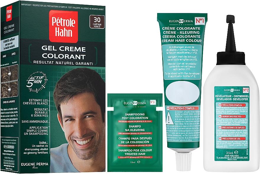 Мужская краска для волос - Eugene Perma Petrole Hahn Coloration