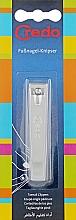 Духи, Парфюмерия, косметика Книпсер ровные лезвия 82 мм, матовый хром, 11518 - Credo Solingen