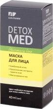 Духи, Парфюмерия, косметика Маска для лица - Elfa Pharm Detox Med Face Mask