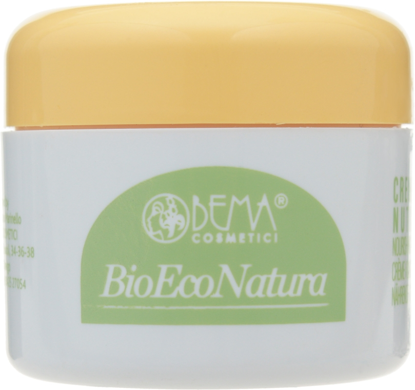 Крем для лица питательный - Bema Cosmetici Bioeconatura Face Nourishing Face Cream